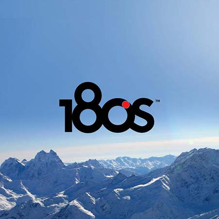 image of the 180s logo